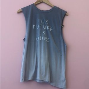The future is ours tank